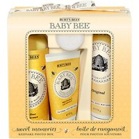 Burts Bees Baby Bee Sweet Memories Gift Set with Photo Box