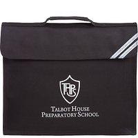 Talbot House Preparatory School Book Bag, Black