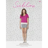 Sirdar Sublime Womens Knitting Pattern Booklet, 0699