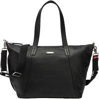 Storksak Noa Leather Changing Bag