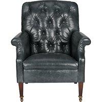 Tetrad Harris Tweed Flynn Leather Armchair