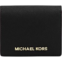 MICHAEL Michael Kors Jet Set Travel Flapover Leather Card Holder