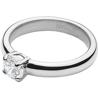 Dyrberg/Kern Solitaire Cubic Zirconia Ring, Silver