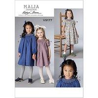 Vogue Childrens Dresses Sewing Pattern, 9177