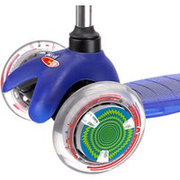 Micro Scooter LED Wheel Whizzers, Green/Blue/White