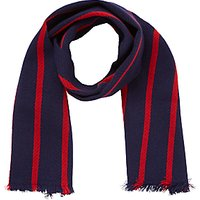 Berkhampstead School Scarf, Navy/red