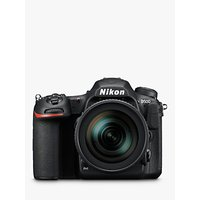 Nikon DX D500 Digital SLR Camera With 16-80mm VR Lens, 4K Ultra HD, 20.9MP, Wi-Fi/Bluetooth/NFC, 3.2 Tiltable Touch Screen, Black