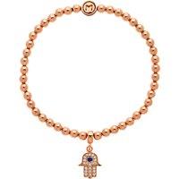 Melissa Odabash Hamsa Bracelet, Rose Gold