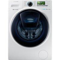 Samsung AddWash WW12K8412OW/EU Washing Machine, 12kg Load, A+++ Energy Rating, 1400rpm Spin, White