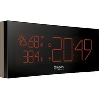 Oregon Scientific Prysma Chrome Weatherstation Alarm Clock