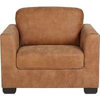 John Lewis Cooper Leather Armchair with Dark Legs