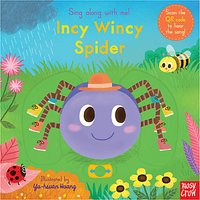 Sing Along With Me! Incy Wincy Spider Childrens Book