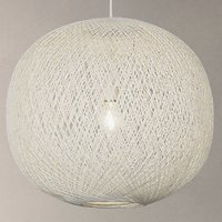 John Lewis Granville Easy-to-Fit Pendant Light, White