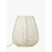 John Lewis Rosanna Metal Fretwork Table Lamp