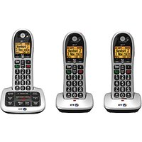 BT 4600 Big Button Digital Cordless Phone With Advanced Call Blocking & Answering Machine, Trio DECT