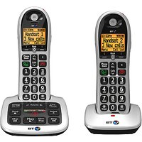 BT 4600 Big Button Digital Cordless Phone With Advanced Call Blocking & Answering Machine, Twin DECT