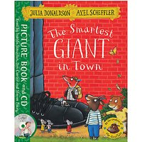 The Smartest Giant in Town Book and CD