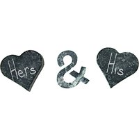 Sparq Whiskey Love Shapes, Set of 3