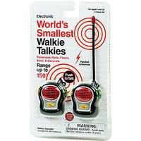 Smallest Walkie Talkies, Pack of 2