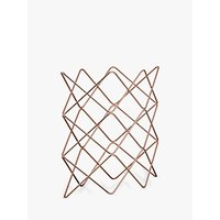 John Lewis Scandi Copper Wine Rack, 9 Bottle