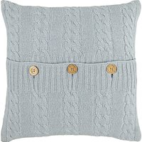 John Lewis Croft Collection Cashmere Blend Cable Knit Cushion