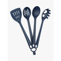 House by John Lewis Kitchen Utensils, Set of 4, Navy