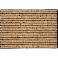John Lewis Coir Loop Door Mat, Natural