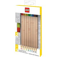 LEGO Coloured Pencils, 9 Pack