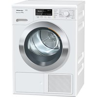 Miele TKG 840 Freestanding Heat Pump Tumble Dryer, 8kg Load, A+++ Energy Rating, White