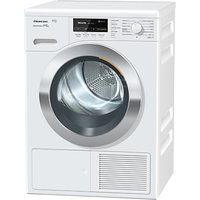 Miele TKR 850 Freestanding Heat Pump Tumble Dryer, 9kg Load, A+++ Energy Rating, White