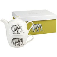 Harlequin Savannah Teapot and Cup For One