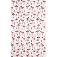 Fenella Smith Flamingo and Pineapple Tea Towel
