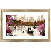 Richard Macneil - New York Haze Framed Print, 112 x 72cm