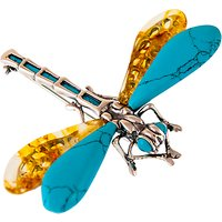 Be-jewelled Dragonfly Brooch