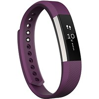 Fitbit Alta Wireless Activity And Sleep Tracking Smart Fitness Watch, Large - Plum