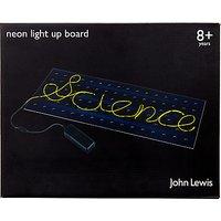 John Lewis Neon Light Up Board
