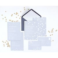 Abigail Warner Confetti Personalised Evening Invitations