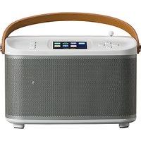 ROBERTS R100 Multiroom Bluetooth Speaker Base Station with DAB/DAB+/FM Radio