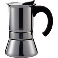 John Lewis Espresso Induction Cafetiere, 6 Cup