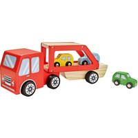 John Lewis Wooden Car Transporter Playset