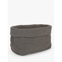 House by John Lewis Ratio Storage Basket, Steel