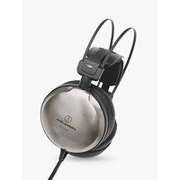 Audio-Technica ATH-A2000Z Art Monitor Closed-Back Dynamic Over-Ear Headphones, Titanium Silver