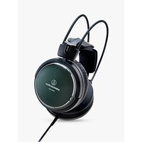 Audio-Technica ATH-A990Z Art Monitor Over-Ear Closed-Back Dynamic Headphones, Green