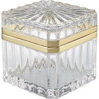 John Lewis Art Deco Glass Trinket Box