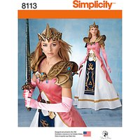 Simplicity Craft Womens Costume Sewing Pattern, 8113