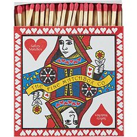 Archivist Queen Of Hearts Square Box of Matches