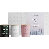 SKANDINAVISK Vinter Mini Candle Gift Set, Set of 3
