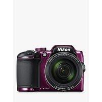 Nikon COOLPIX B500 Digital Camera, 16MP, HD 1080p, 40x Optical Zoom, Wi-Fi, Bluetooth, 3 LCD Screen