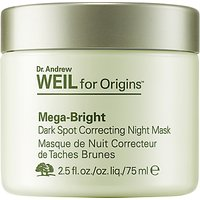 Dr. Andrew Weil for Origins Mega-Bright Dark Spot Correcting Night Mask, 75ml