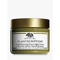 Origins Plantscriptiontm Youth-Renewing Power Night Cream, 50ml